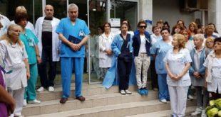Протест на лекарите срещу насилието