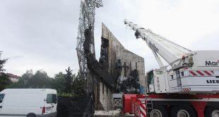 паметник НДК пожар кран