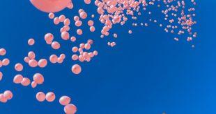 Розиви балони за борба с рака над София