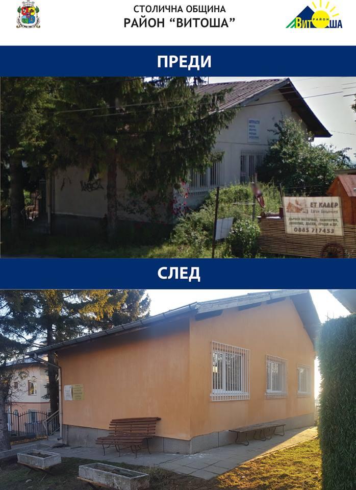 район Витоша, Столична община