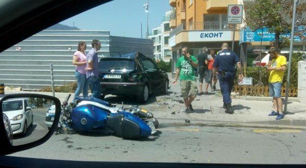Катастрофа на бул. Черни връх