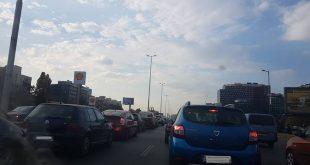 задръстване на Цариградско шосе