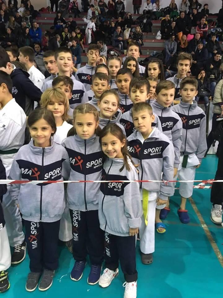 международен турнир по карате в зала Христо Ботев