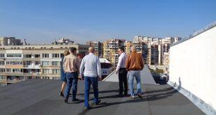 """ремонтиран покрив на Първа АГ """"Света София"""""""