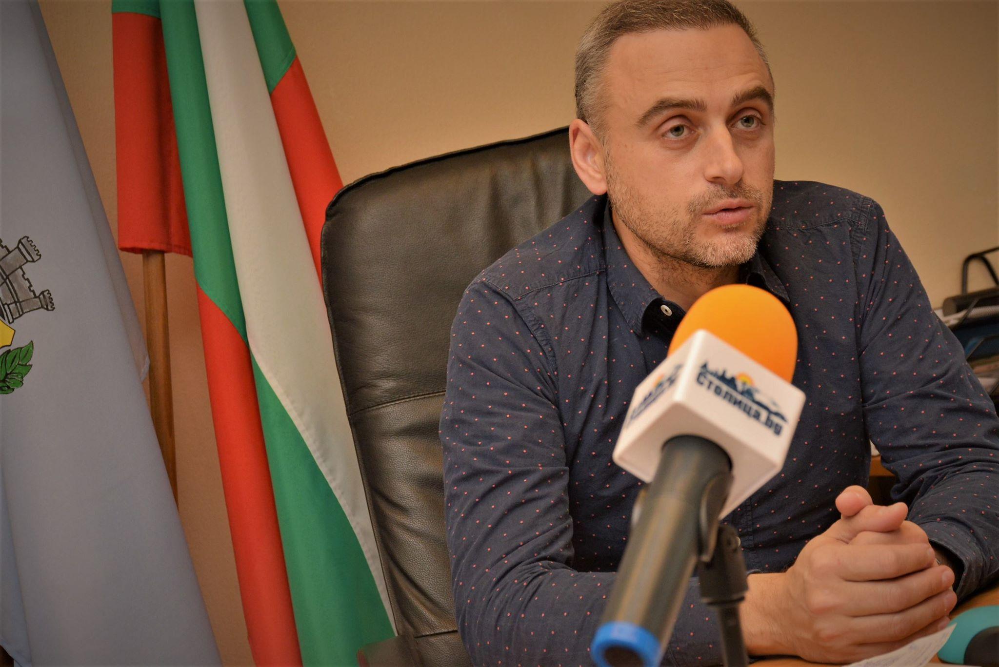 кметът на район Витоша инж. Теодор Петков