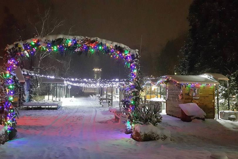 Коледен град
