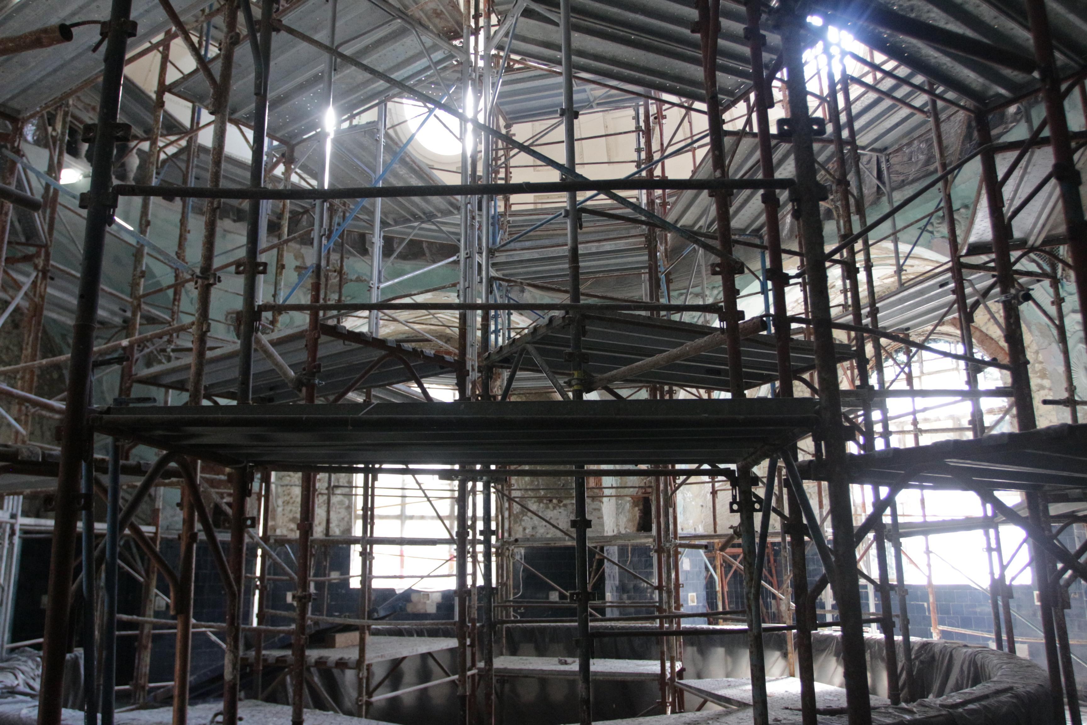 Ремонт на минералната баня в Банкя