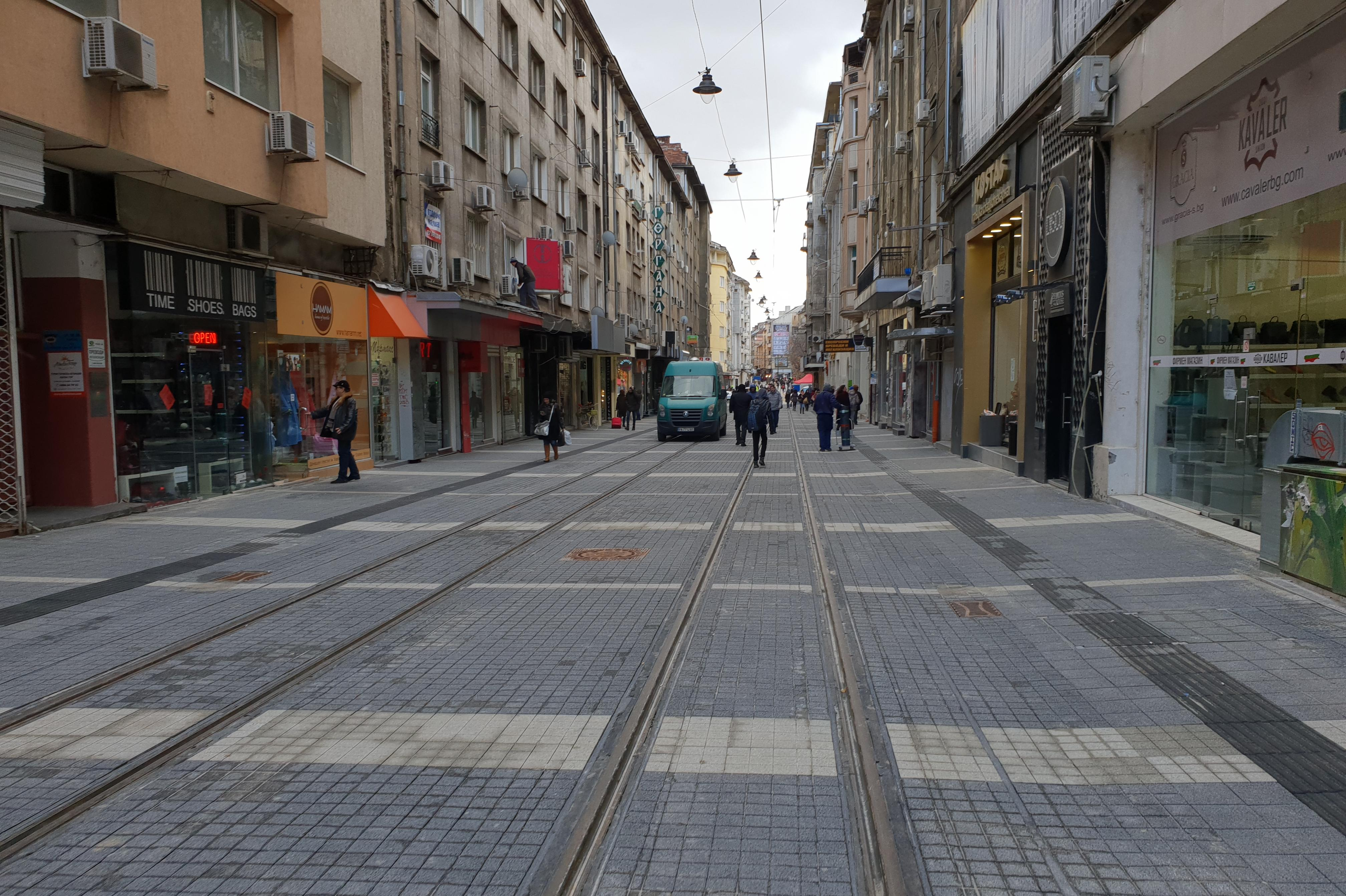 Ремонтиран участък от ул. Граф Игнатиев
