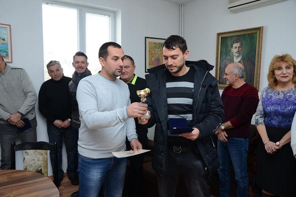 Награждаване в район Илинден