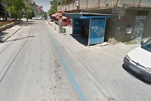Автобусна спирка на ул. Марагидик в кв. Редута