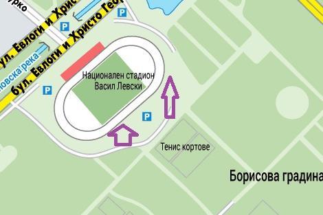 Паркиране на ст. Васил Левски