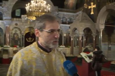 """литургия в """"Александър Невски"""""""