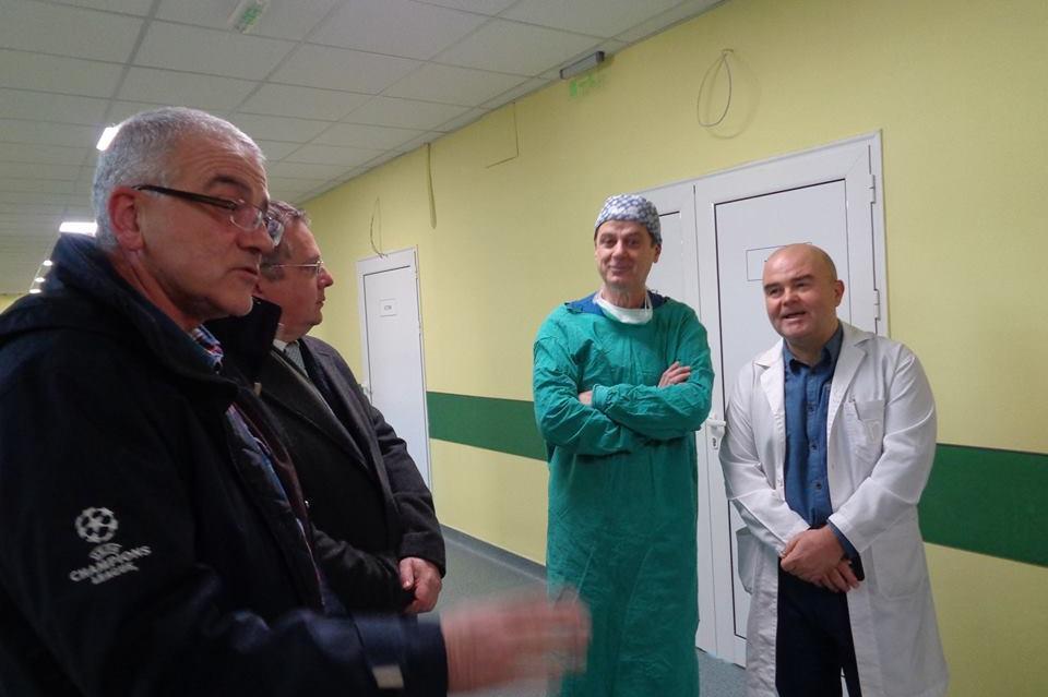 Барбалов и д-р Милев на проверка в Първа градска