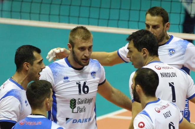 Волейболистите на Левски победиха Монтана на 1/4 финала за Купата на Българ