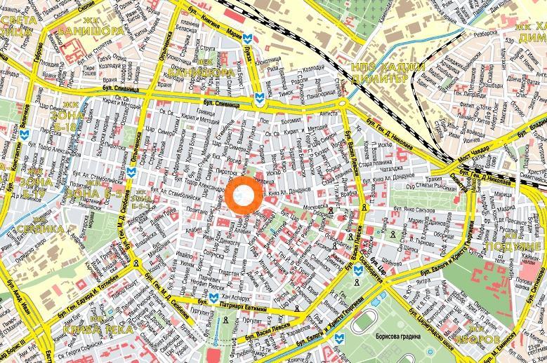 Карта на София, промени в ОУП на столицата
