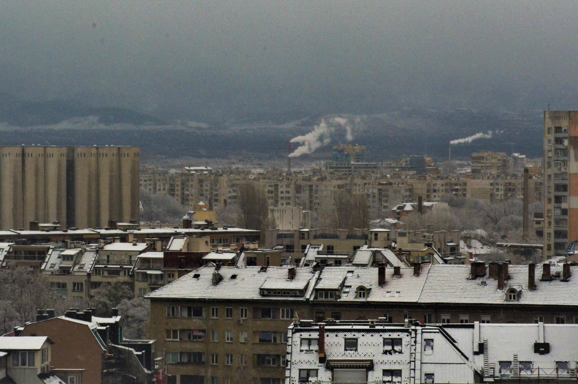 София - зима