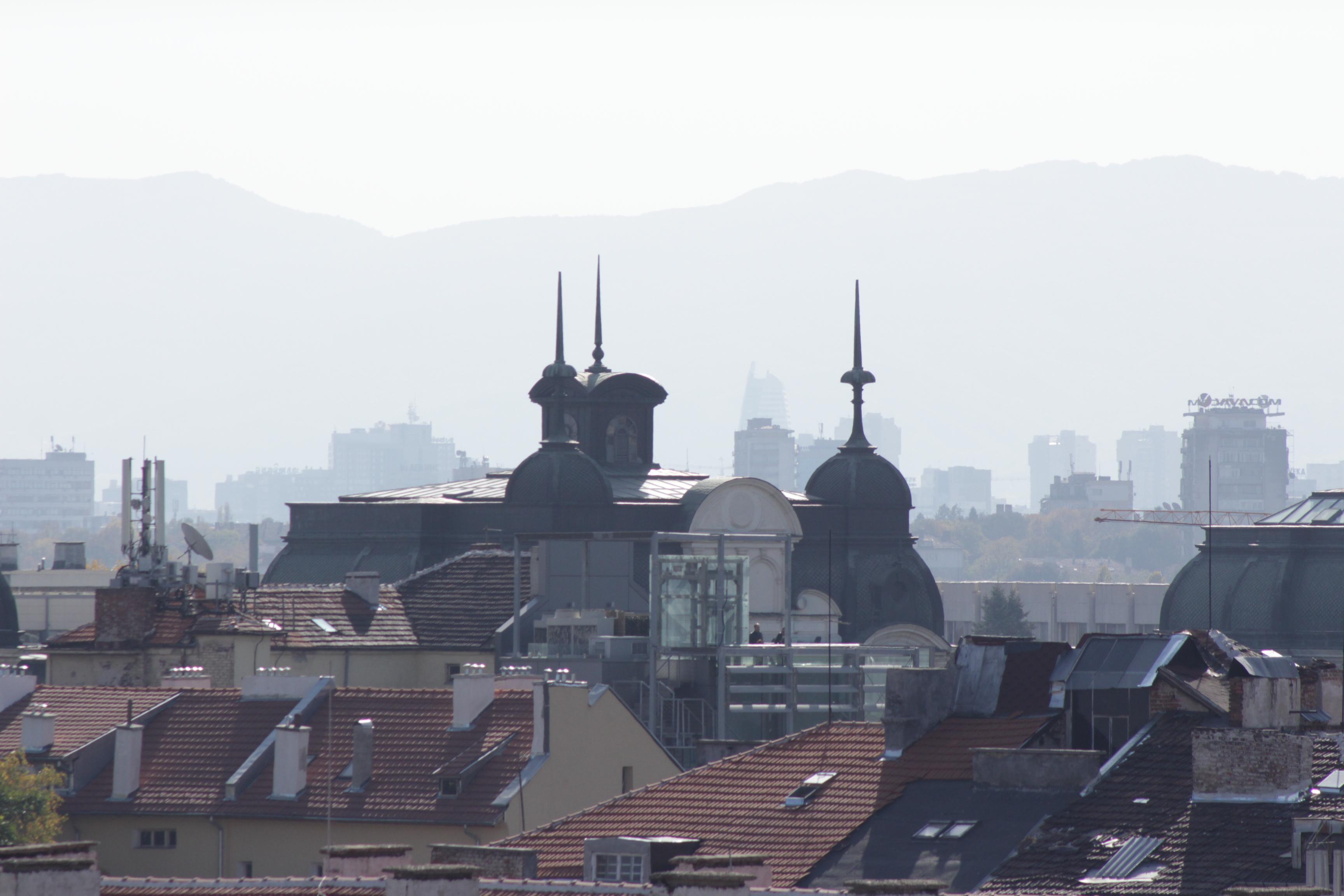 Изглед от София
