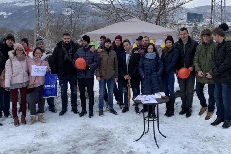 Протест на родители в Манастирски Ливади