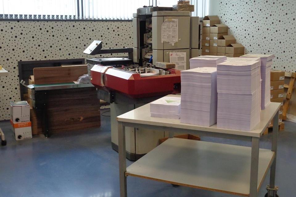 Печатане на съобщенията за недвижими имоти