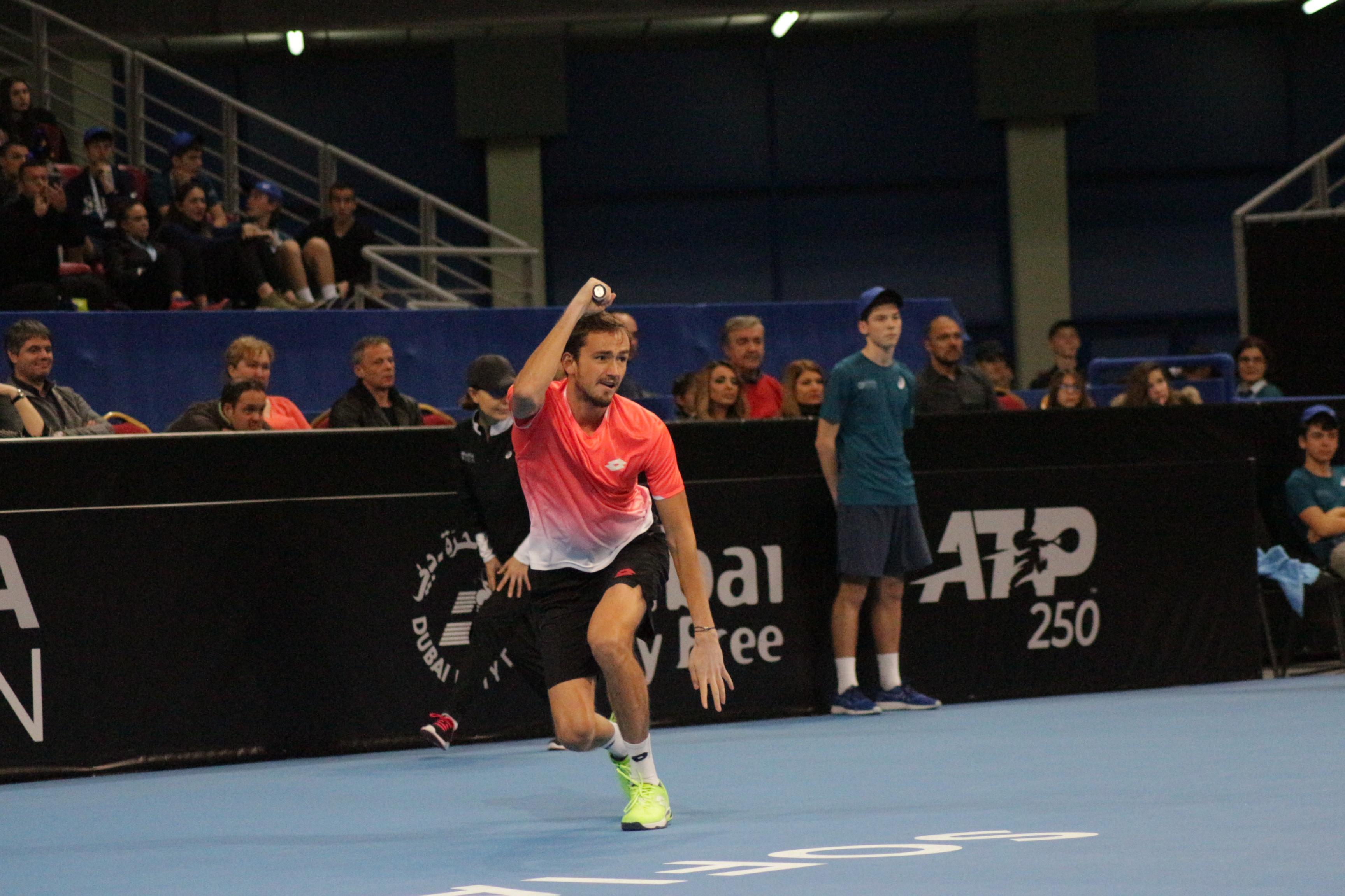 Полуфинал на Sofia Open 2019 Медведев - Монфис