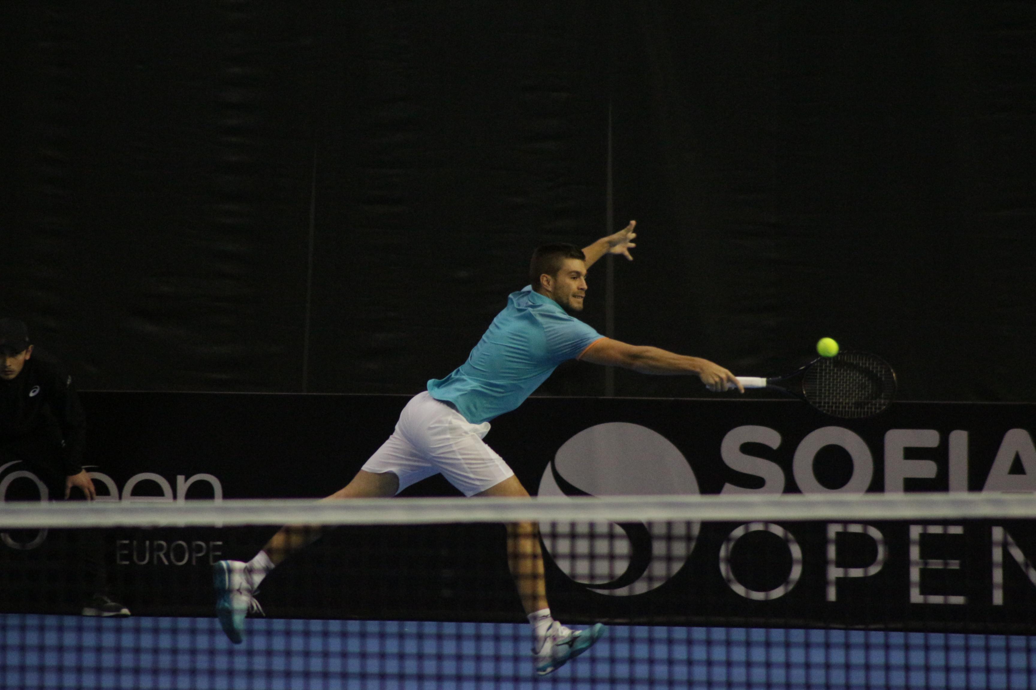 Четвъртфинал на Sofia Open 2019