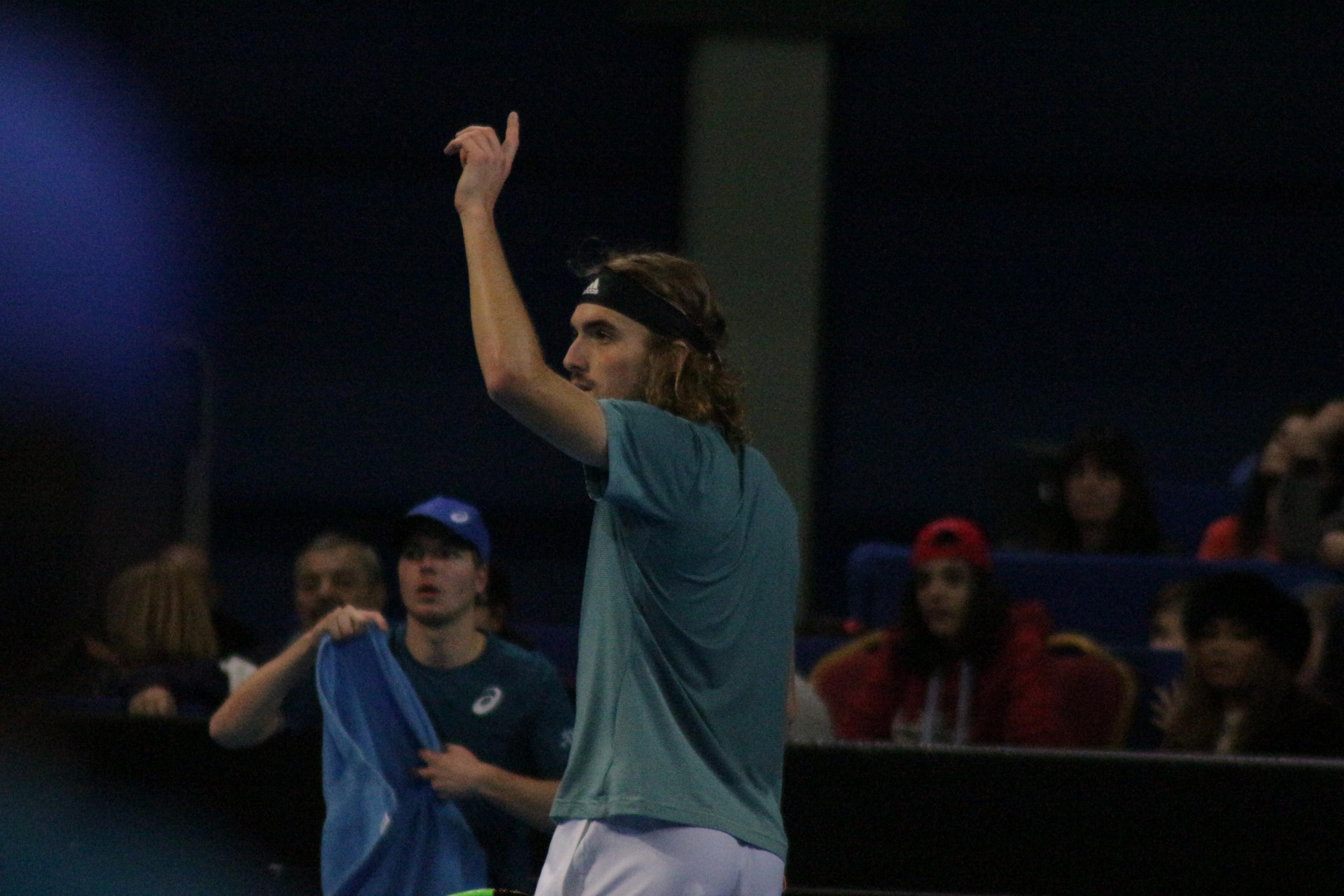 Четвъртфинал Монфис - Циципас