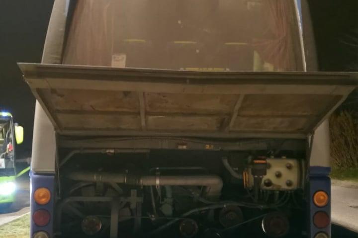 Развален автобус на България травел в Италия