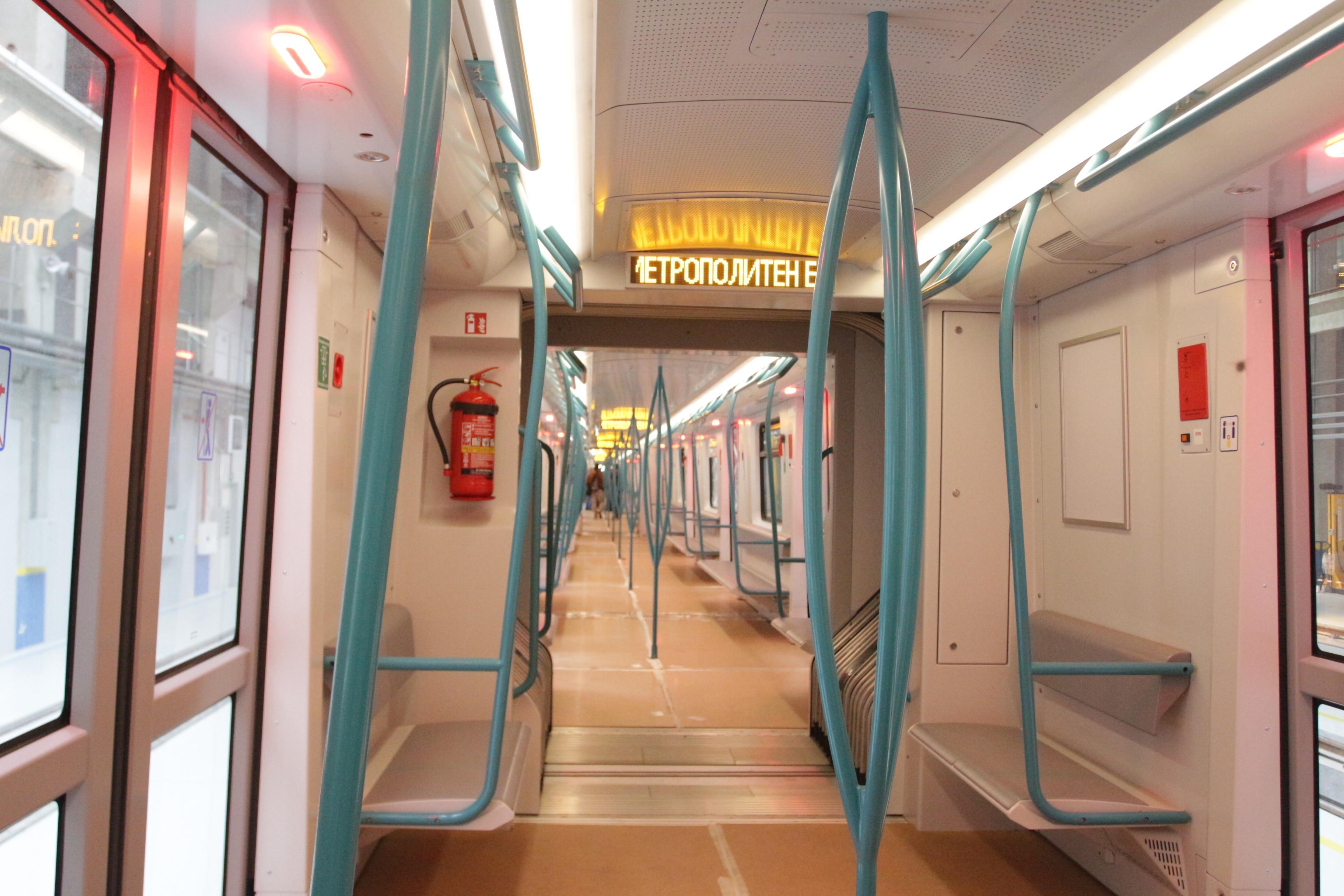Новите влакове, които ще се движат по трасето на Третата метролиния