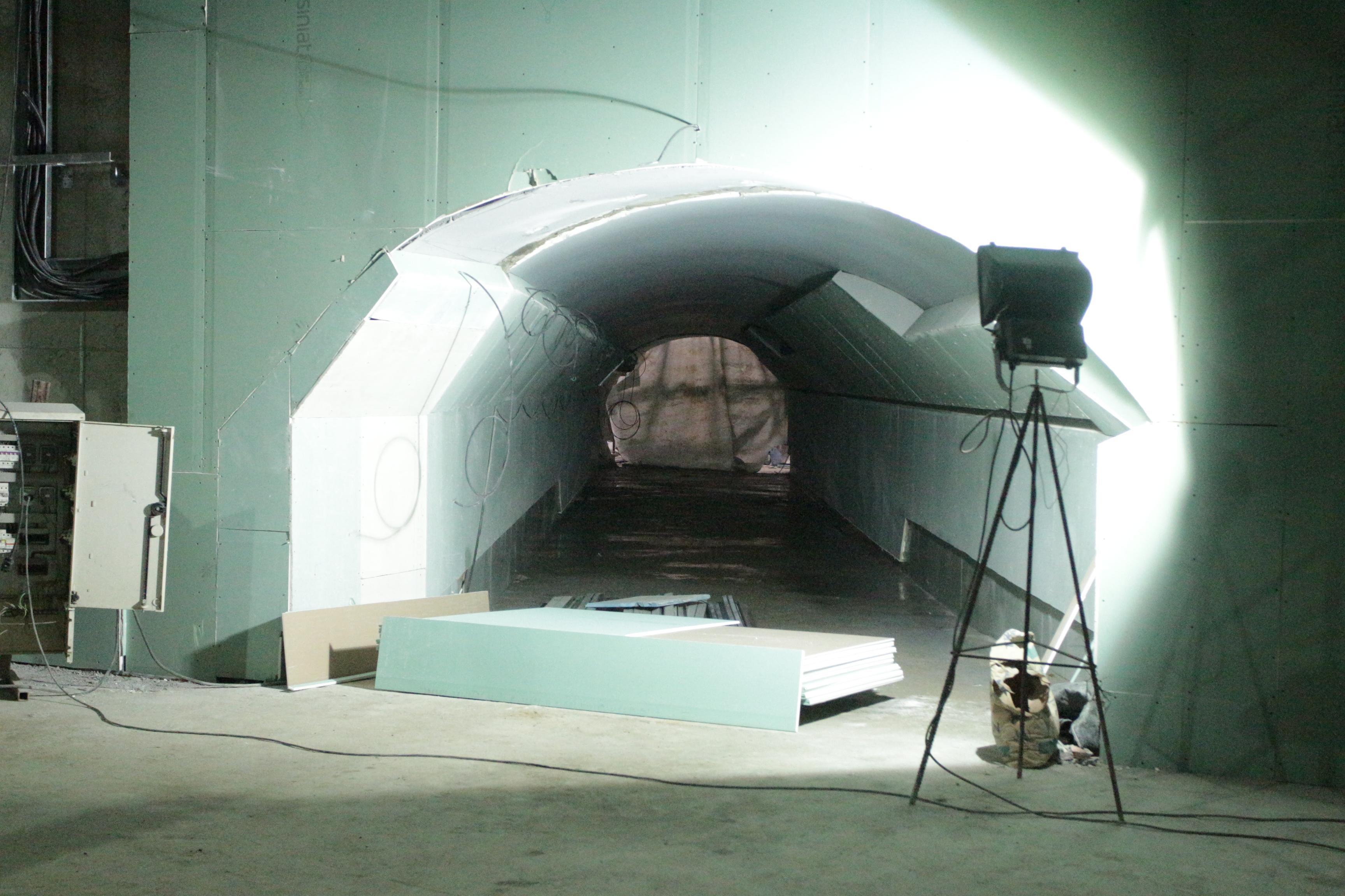 Тунелопробивната машина на метрото