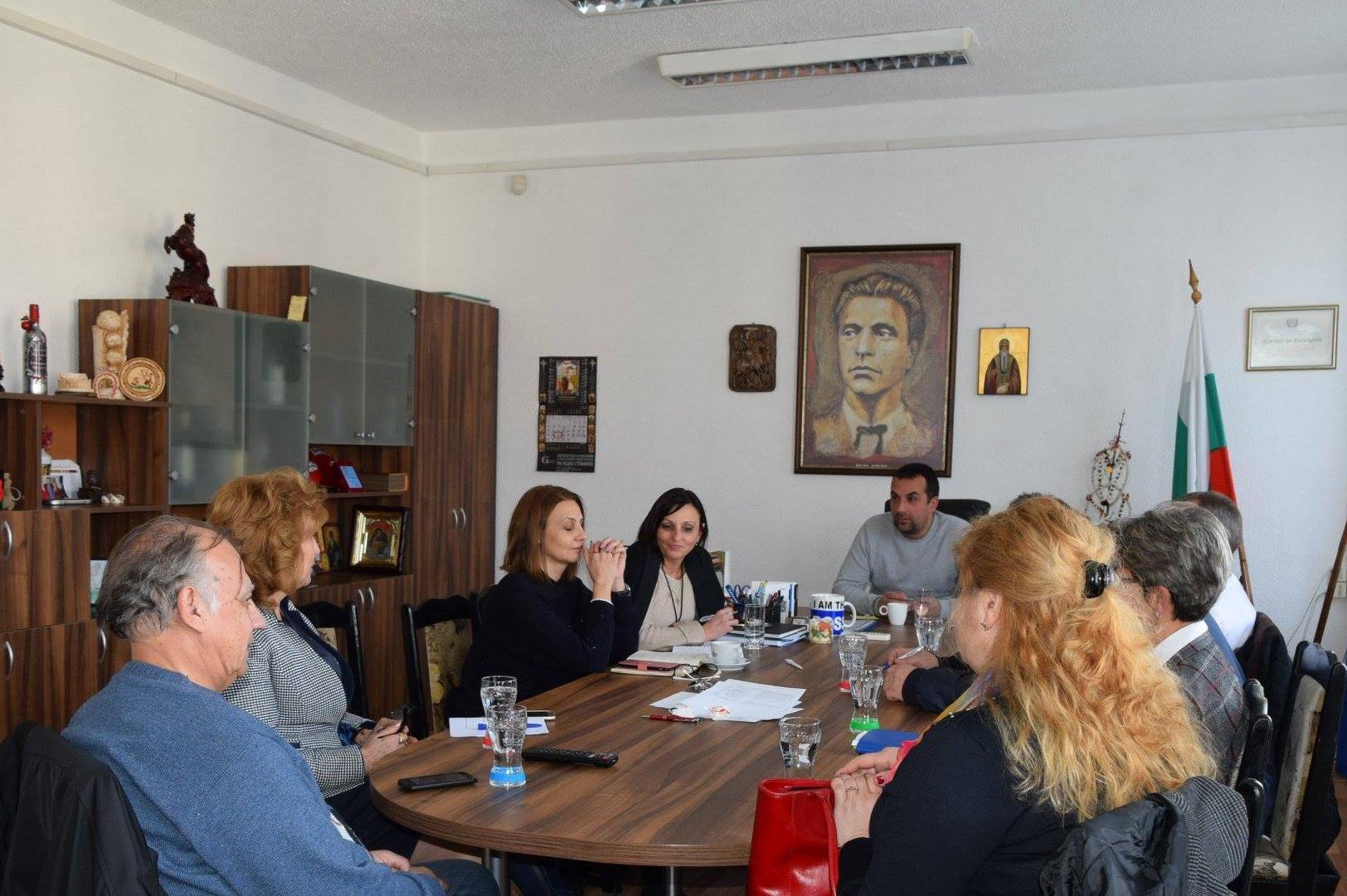 Кметът на Илинден се срещна с директори