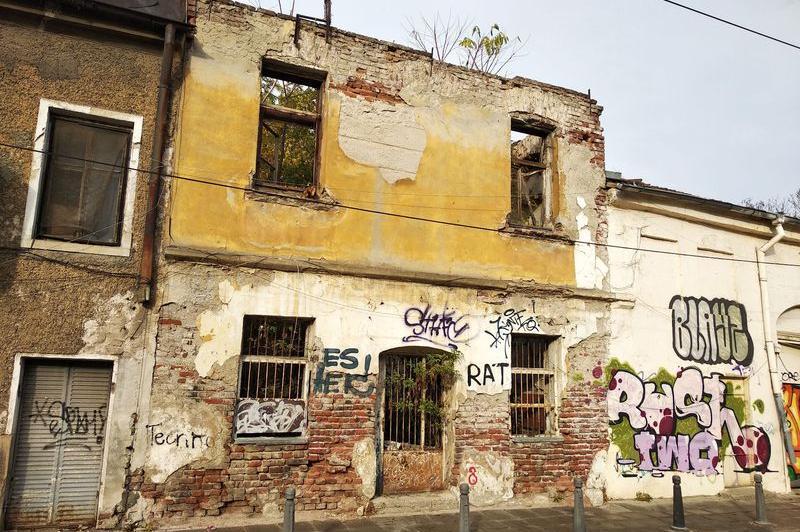 Опасна сграда в София