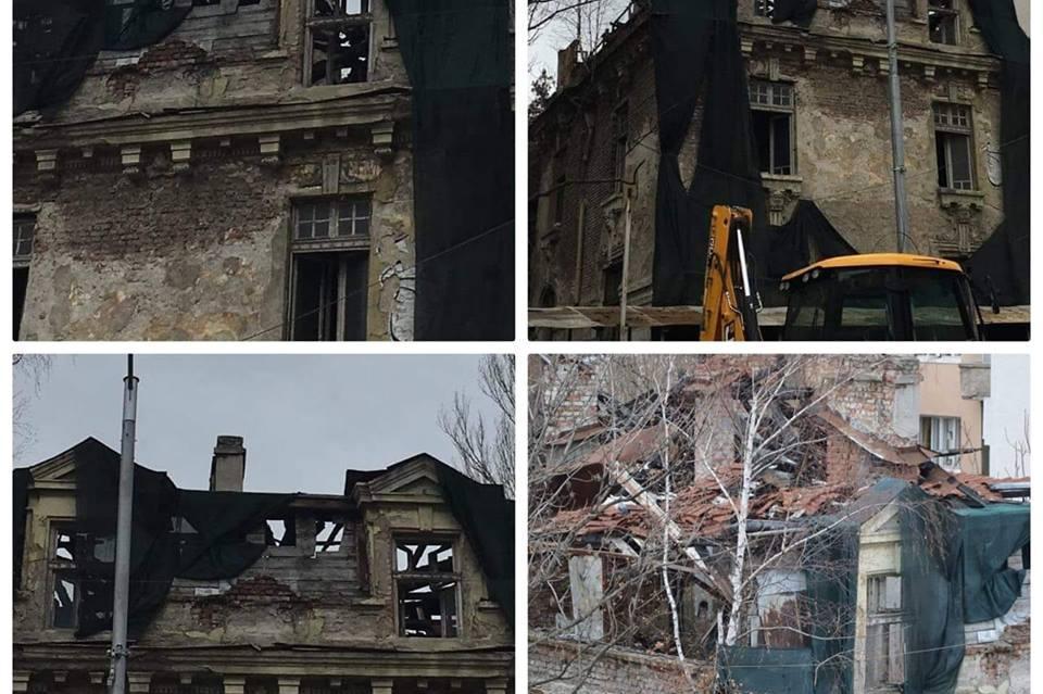 Къщата на Гешов е опасна и може да рухне