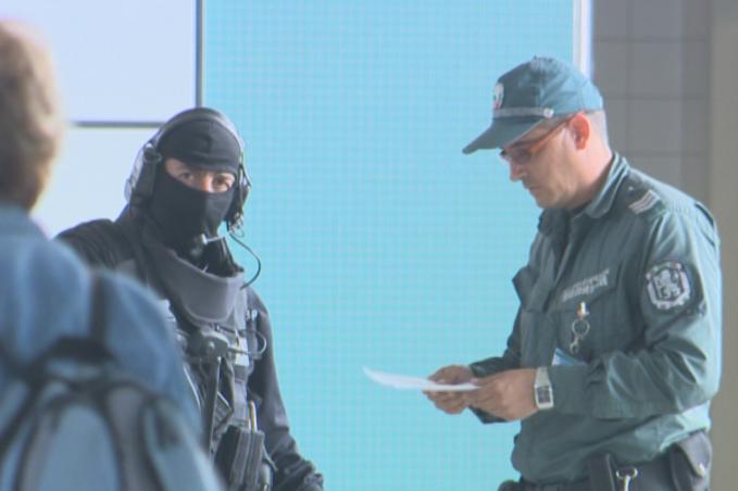 Контрол на летище София