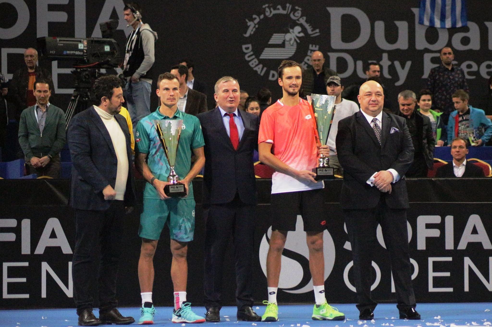 Шампионът на Sofia Open 2019 Даниил Медведев
