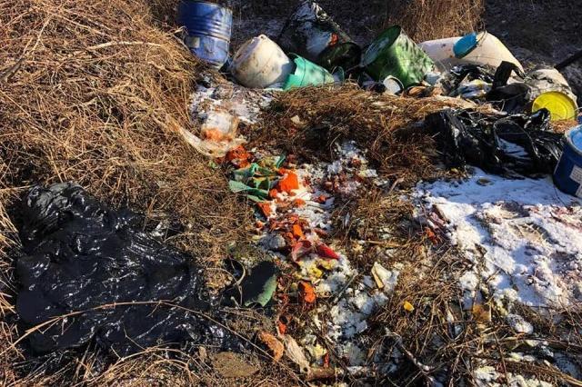 Токсични отпадъци край село Яна