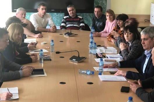 Йорданка Фандъкова на среща със синдикати