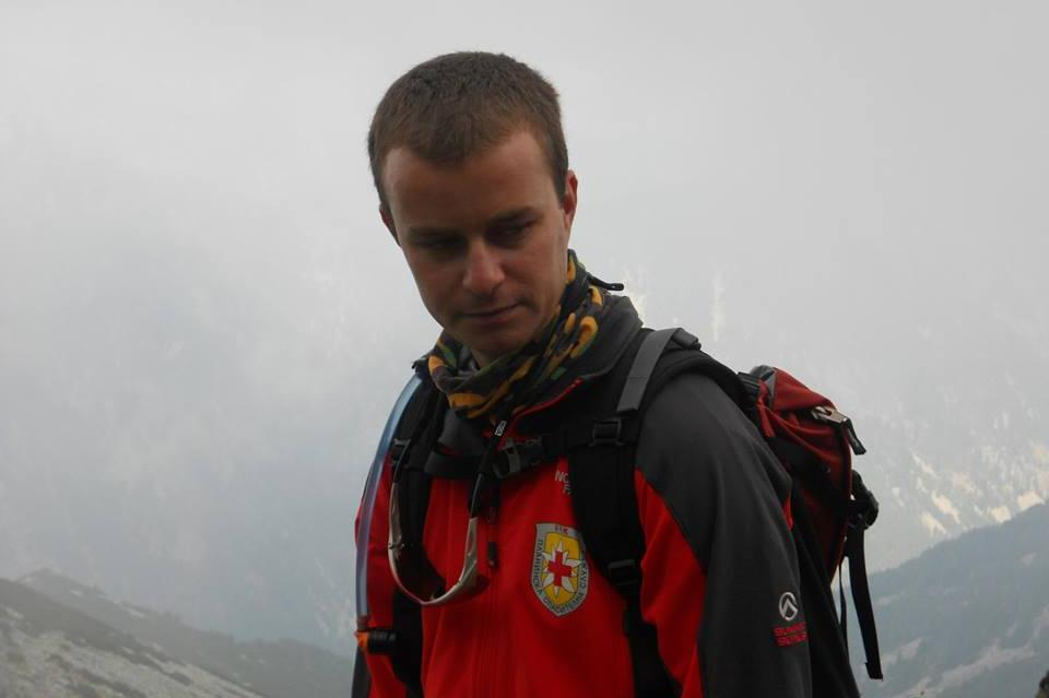 "Чавдар Вунчев, планински спасител от отряда на ПС ""Лакатник"""