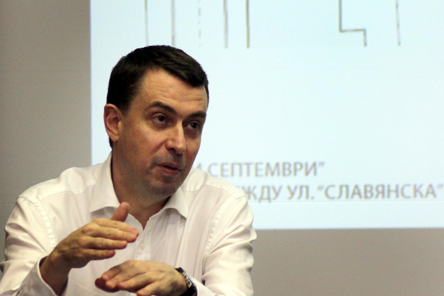 Арх. Здравко Здравков - главен архитект на Столична община
