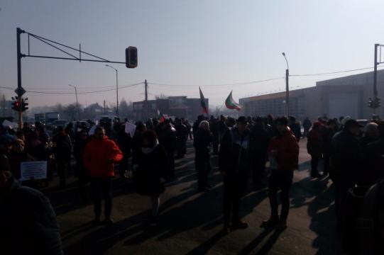 """Протест на жители на """"Горубляне"""""""