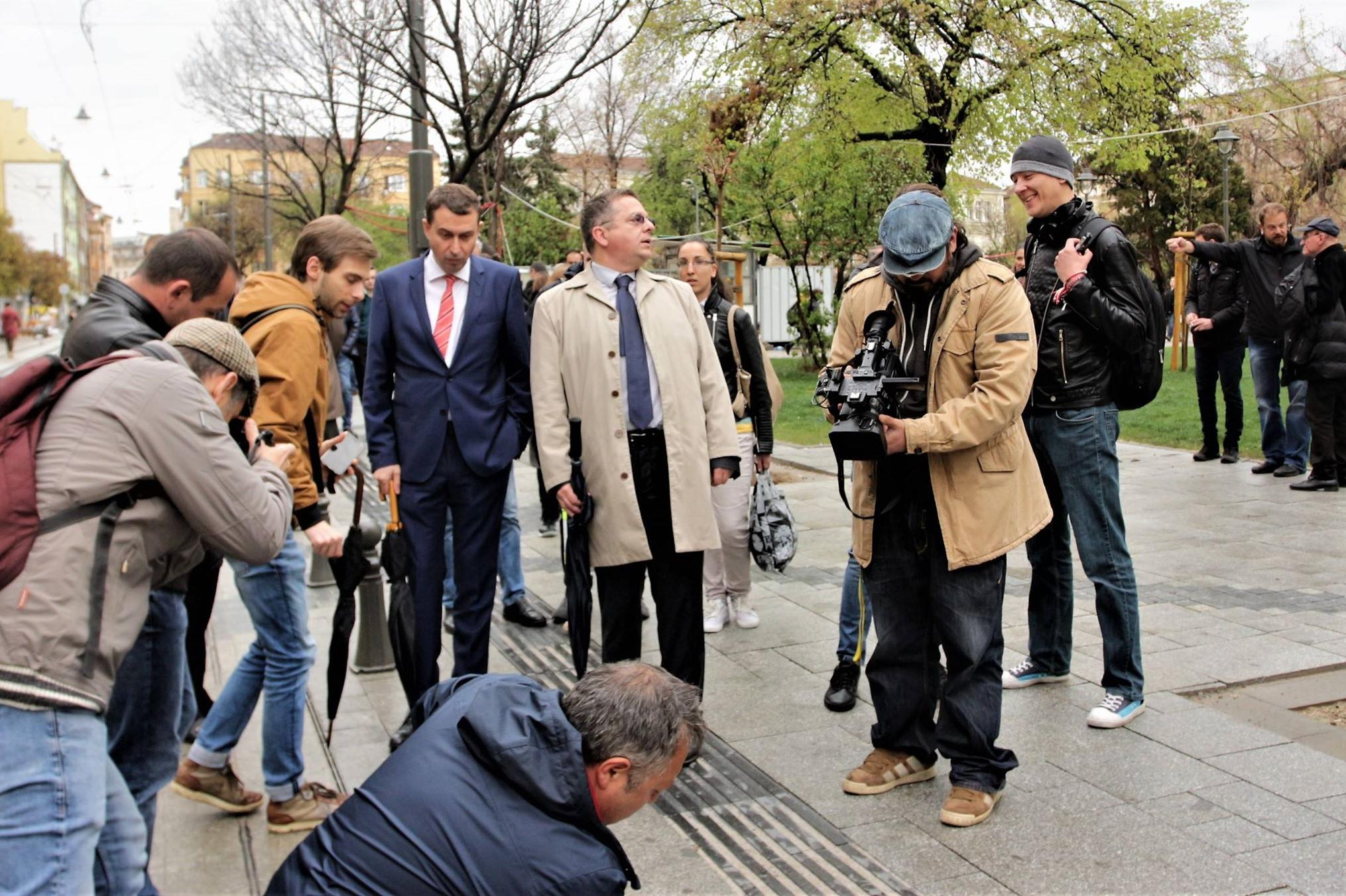 Ограничители по ул. Граф Игнатиев