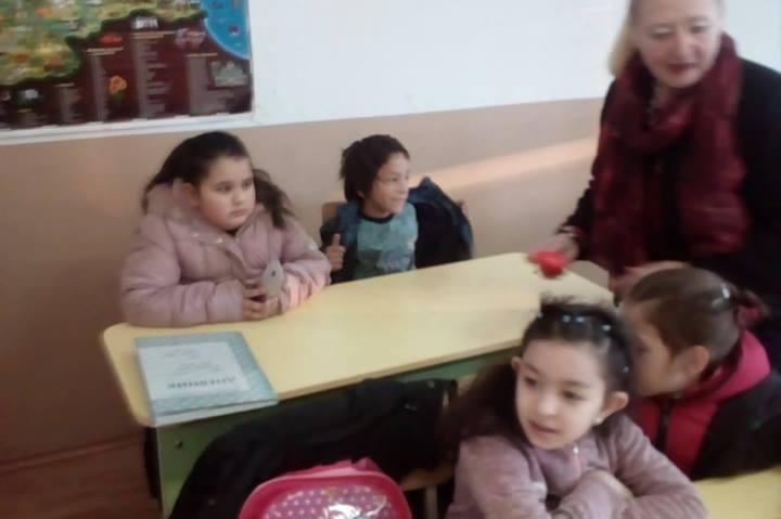 Деца в занимание срещу агресията