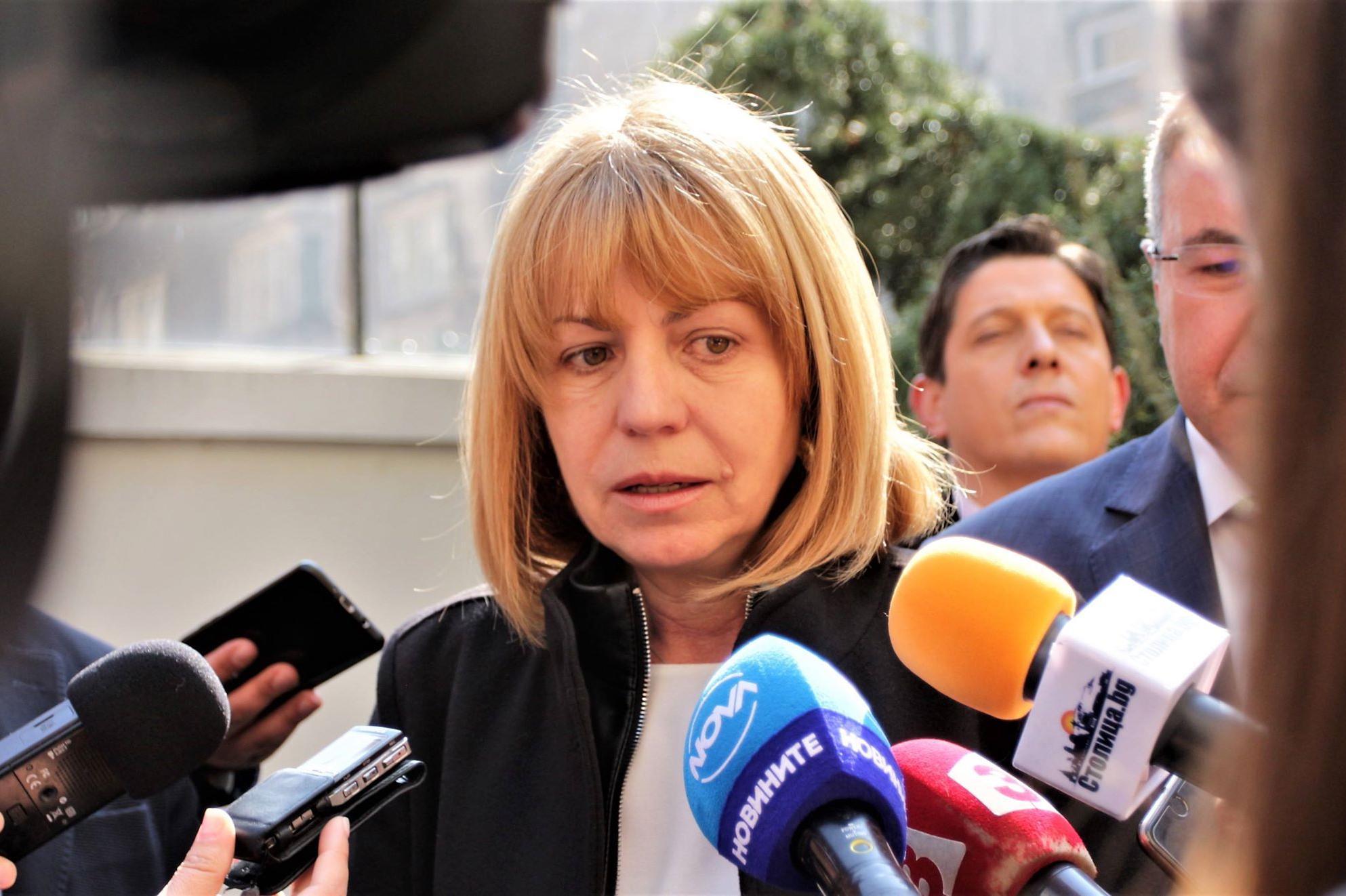 Кметът Йорданка Фандъкова