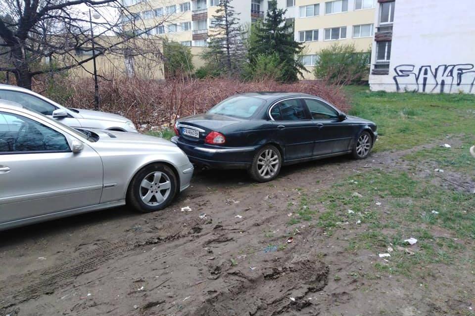 Безразборно паркиране в Студентски град