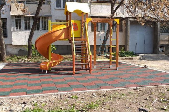 Нова детска площадка на ул. Роголец, бл. 2