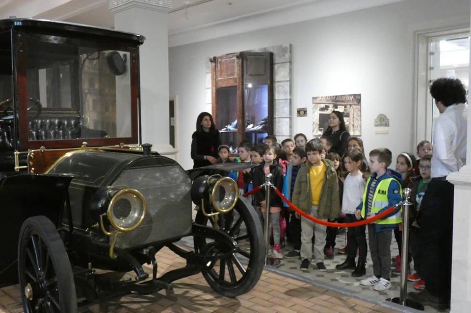 Деца на посещение в РИМ