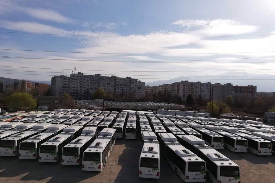 Нови автобуси МАН тръгват по линия 11