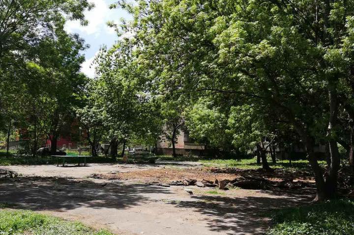 Обновяване на детски площадки