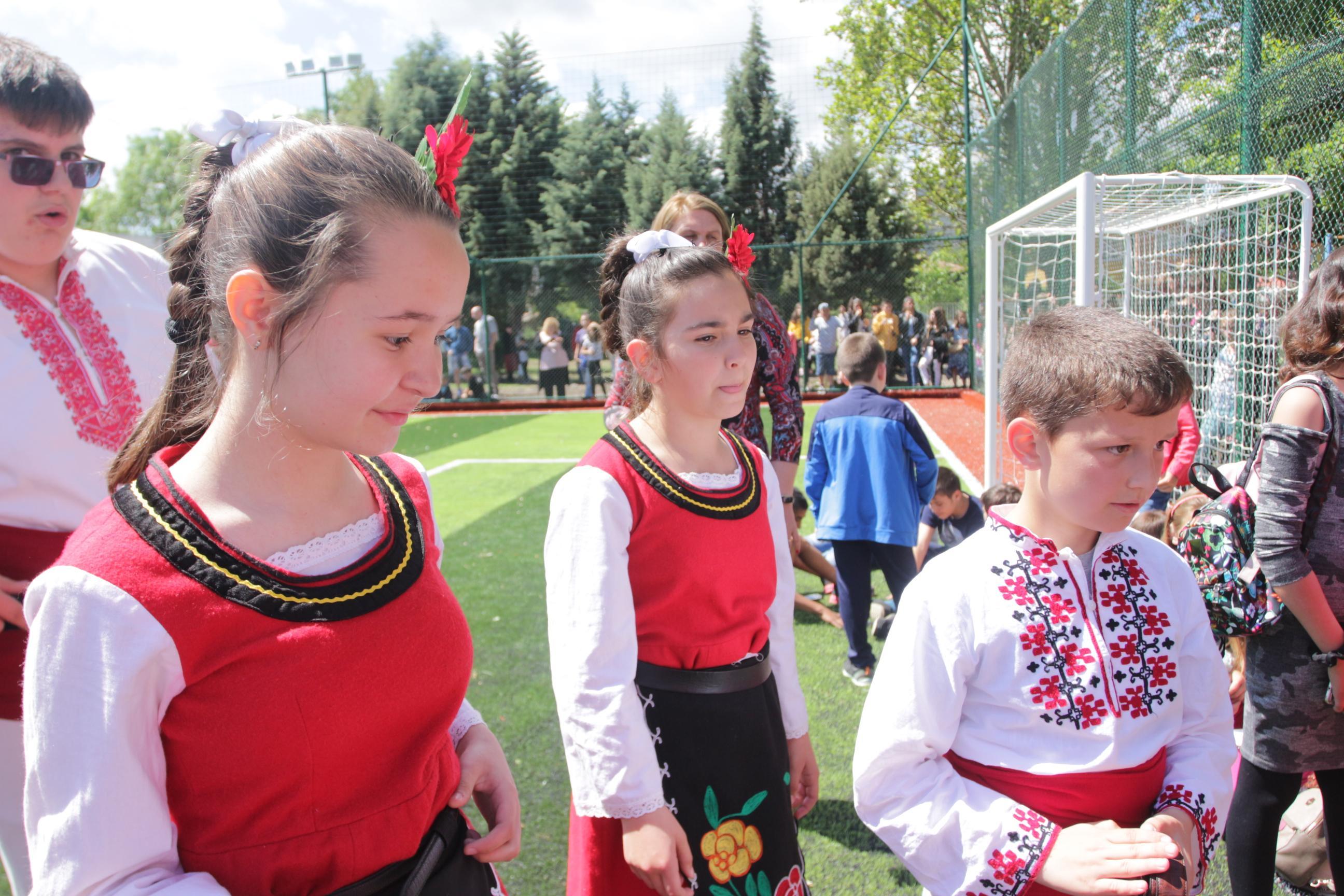 Откриване на футболно игрище в 60 ОУ Св. св. Кирил и Методий