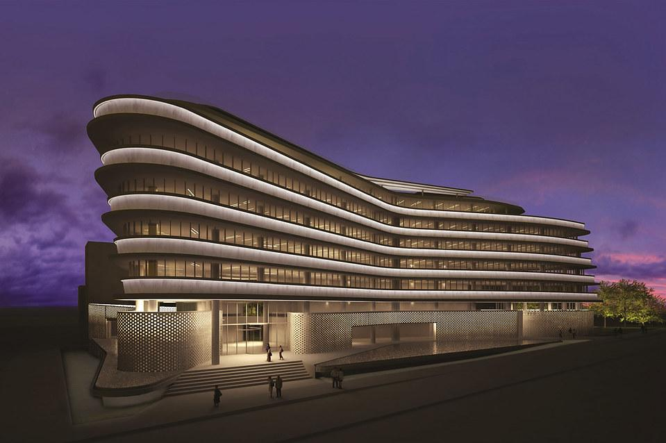 OFFICE BUILDING, FALIRO, ARCHITECTURAL DESIGN: SPARCH / SAKELLARIDOU – PAPA