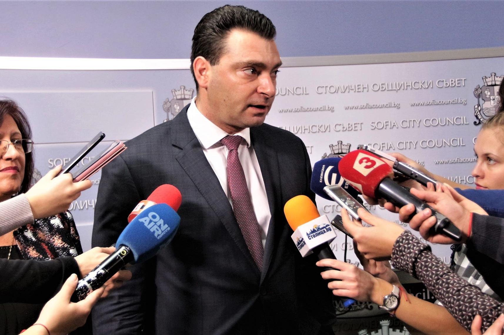 Общинският съветник Калоян Паргов